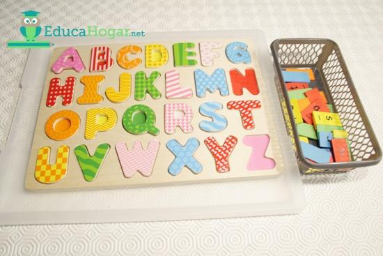 Como armar un abecedario movil