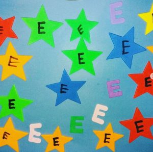 Actividades para aprender la letra E